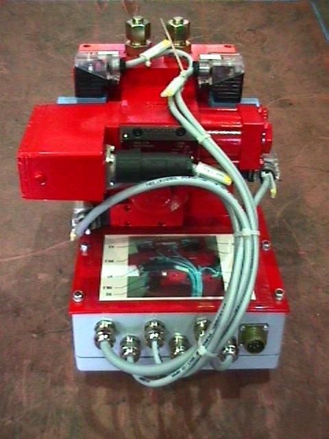 Tundish Slide Gates : Hydraulic equipment for tundish slide gates